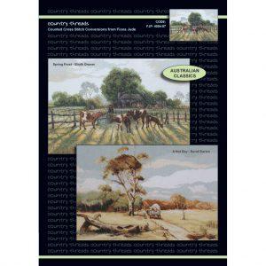 Wildflowers cross stitch chart by Fiona Jude Design size 34 x 48cm if 14ct